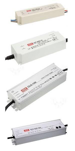 Fuentes de alimentación LED MeanWell