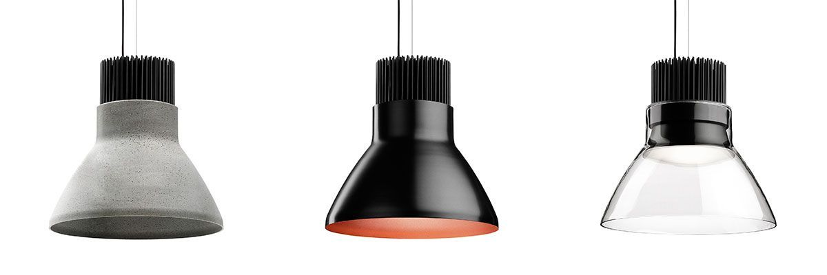 Lámpara de diseño estilo industrial