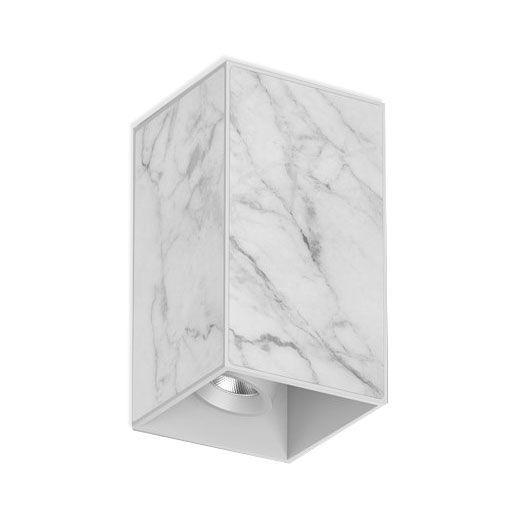spot led realizado en mármol
