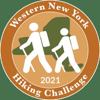 2021 WNY Hiking Challenge Patch