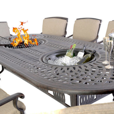 10 seater garden table sets free