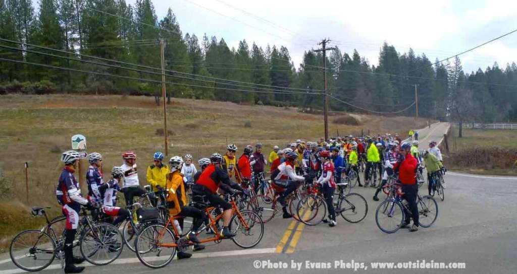 Nevada City Cycling Event