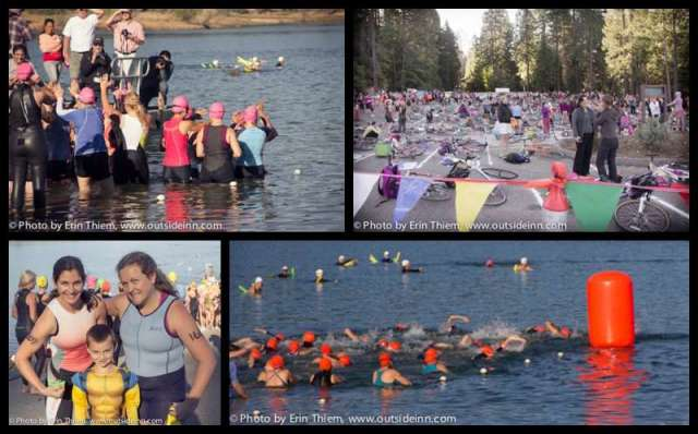 Barbara Schmidt Millar Triathlon, Scotts Flat Lake