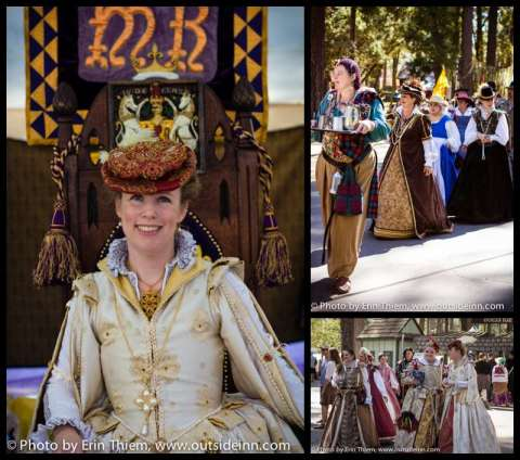 The Queen at the Celtic Festival
