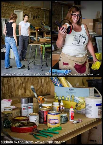 Samantha Hinrichs Mud and Pearls DIY class