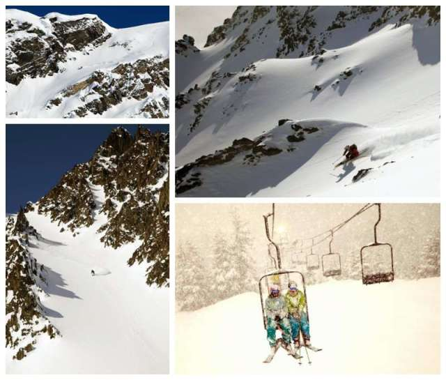 Megan Michelson ski photography