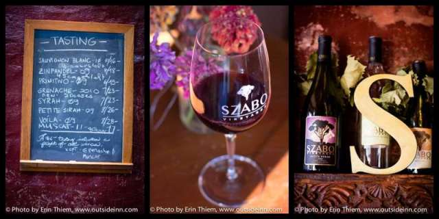 Nevada City Wine Tasting, Szabo