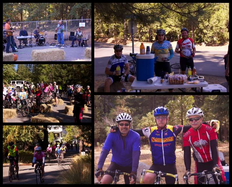 Cycling in Nevada City