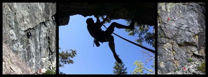 Nevada City Rock Climbing