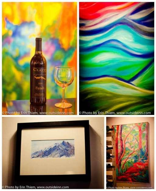 Amy Yerman, Richard Swayze, LeeAnn Brook, Nevada City Wild and Scenic Art