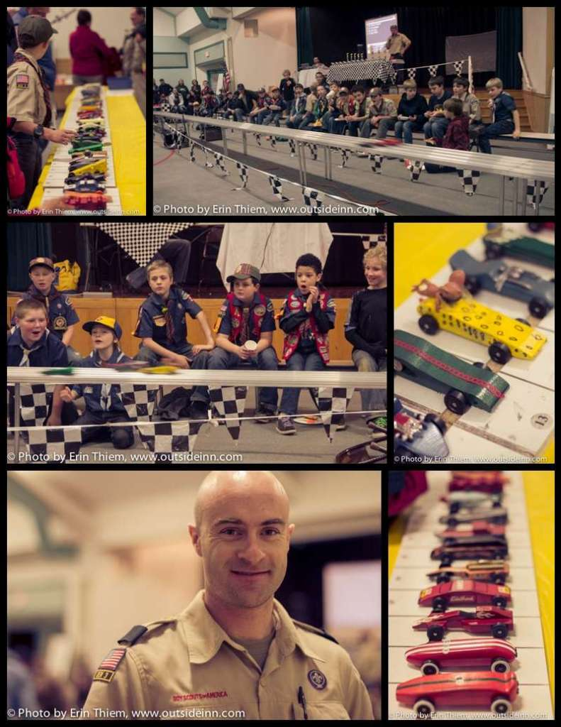 Pinewood Derby, Nevada City Cub Scouts