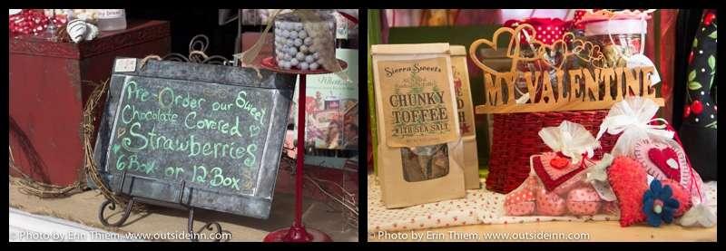 Local Nevada City Valentine's Day gift ideas, The Chocolate Shoppe, Neva CO