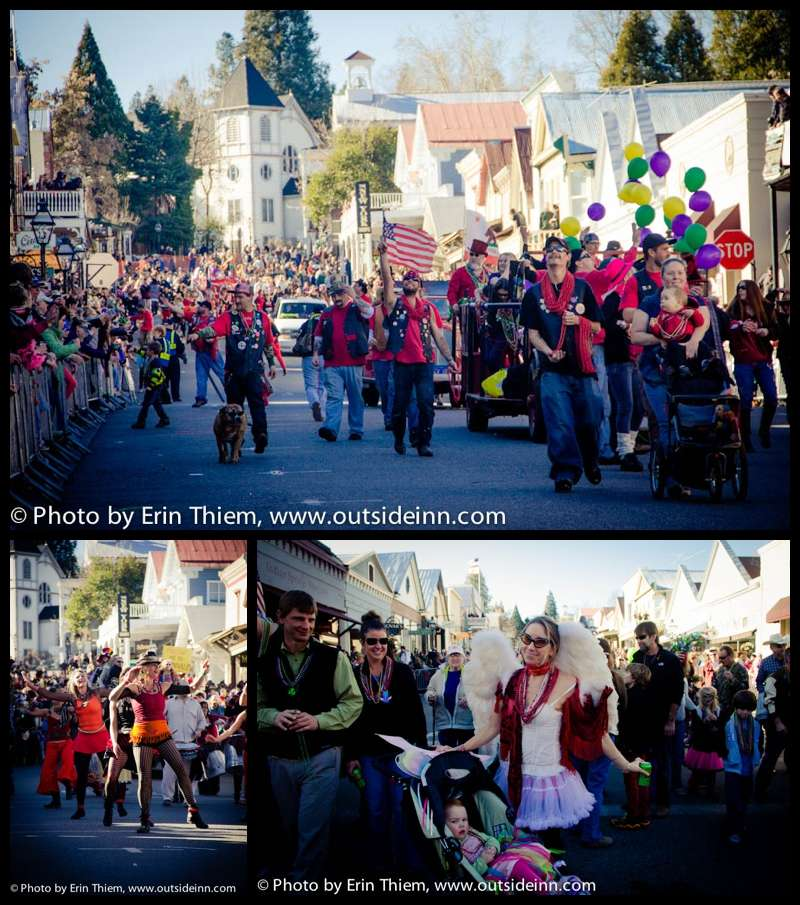 Nevada City Mardi Gras Parade