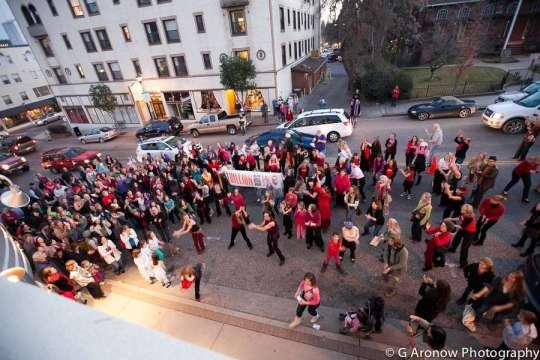 One Billion Rising, Grass Valley