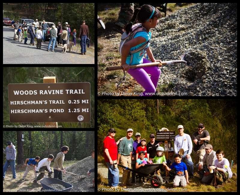 BONC and Bear Yuba Land Trust Hirschman Trail Maintenance