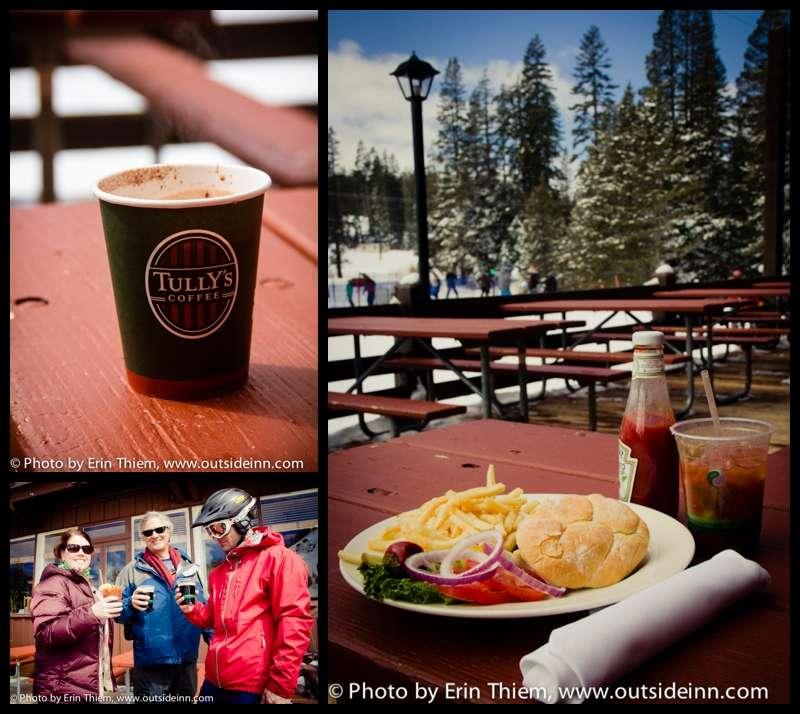 Sugar Bowl Resort Dining, Lunch at the ski resort