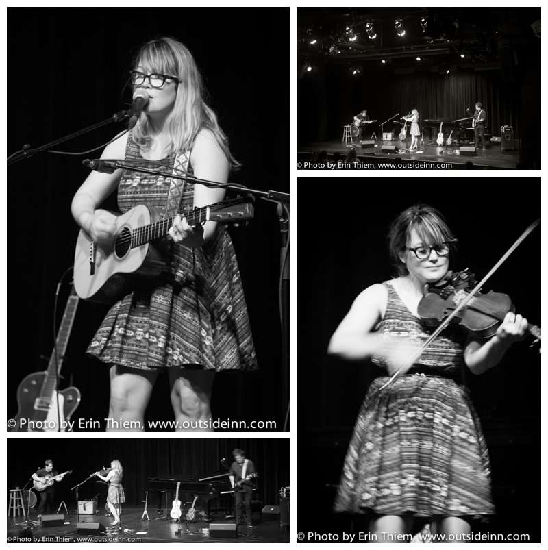 Grass Valley live music, Sara Watkins, The Center for the Arts