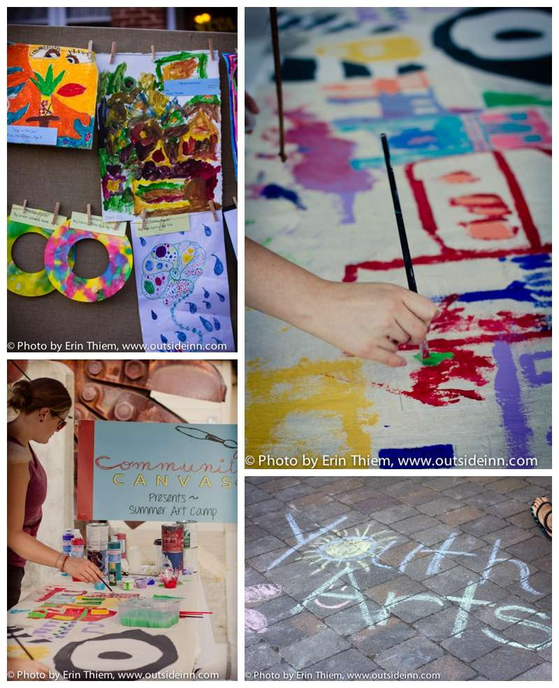 Community Canvas, Nevada County Makes, First Friday Art Walk Youth Showcase photos