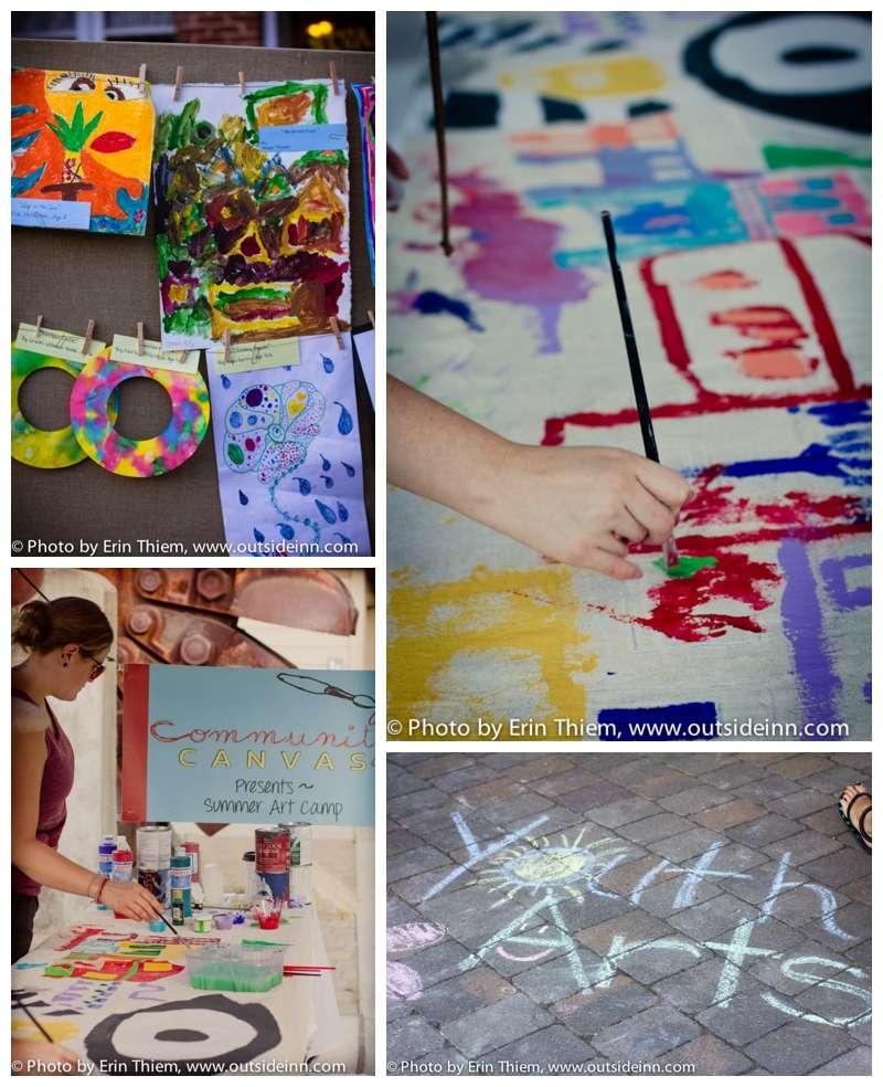 Community Canvas, Nevada County Makes, First Friday Art Walk Youth Showcase photos
