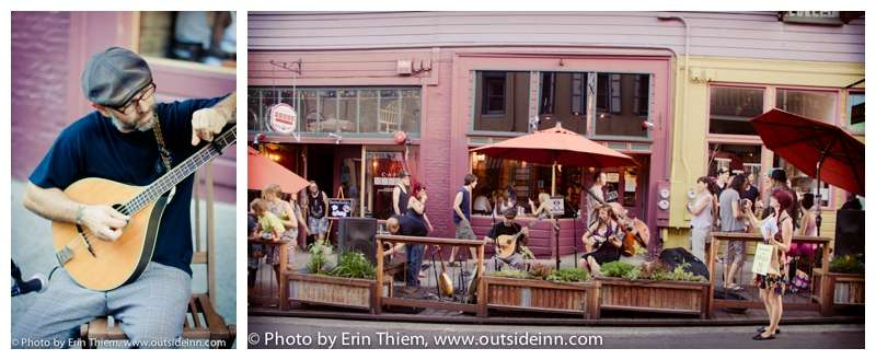 First Friday Art Walk Nevada City live music photos