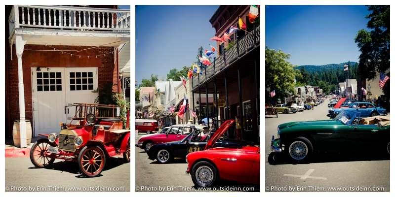 Nevada City Events, Foreign Car Show and Wine Tasting