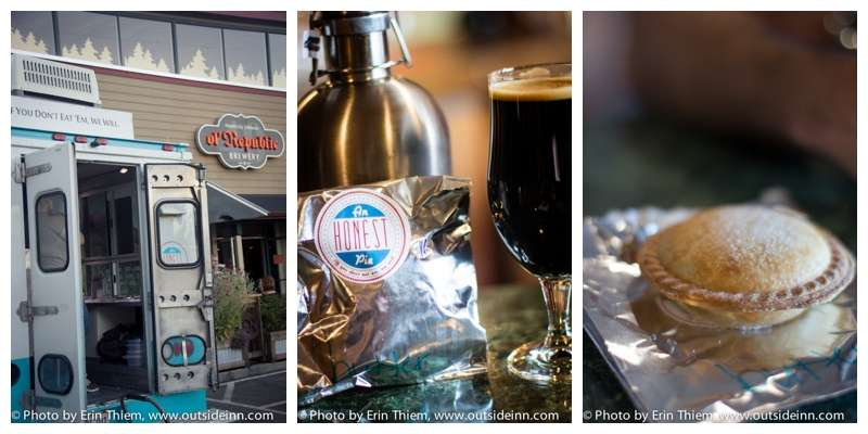 Nevada City Eating Out, Ol Republic Brewery and An Honest Pie