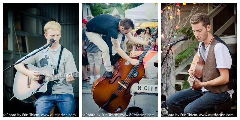 First Friday Art Walk Musicians, Nevada City