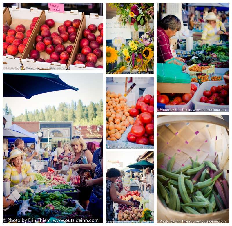 Farmers Market, Grass Valley, Things to Do in the summer