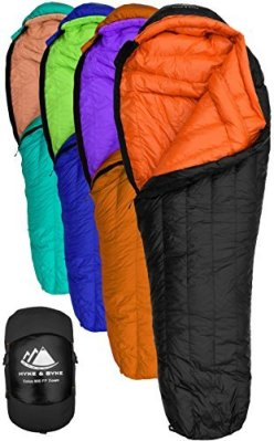 Hyke & Byke 800 Fill Power Goose Down Sleeping Bag