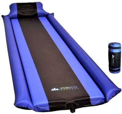 Sleeping Pad with Armrest & Pillow