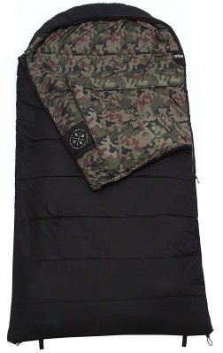 The Colossal Winter Double Sleeping Bag-XXXL Hooded Sleeping Bag