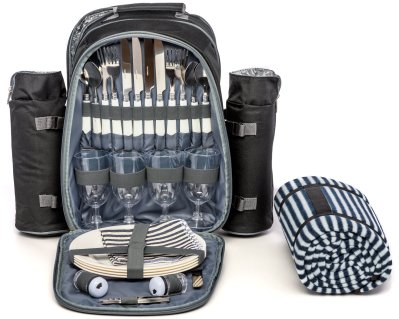 Picnic Backpack for 4 by Mister Alfresco
