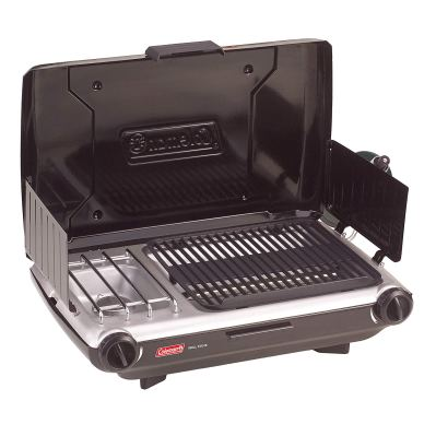 Coleman 2 Burner Grill Stove Combo 2000020929