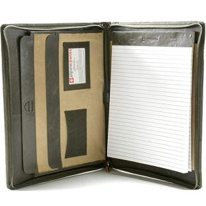 Alpine Swiss Genuine Leather Portfolio