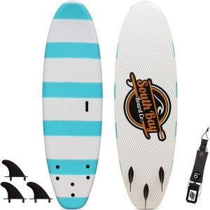 South Bay Board Co 6 Beginner Surfboard for Kids
