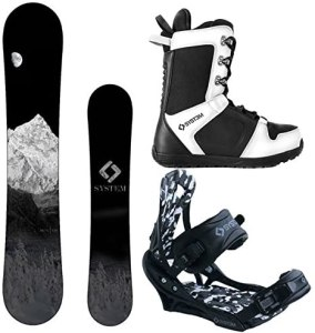 System 2020 MTN and APX Complete Men's Snowboard Package