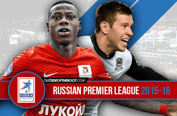 Russia Premier League Standing