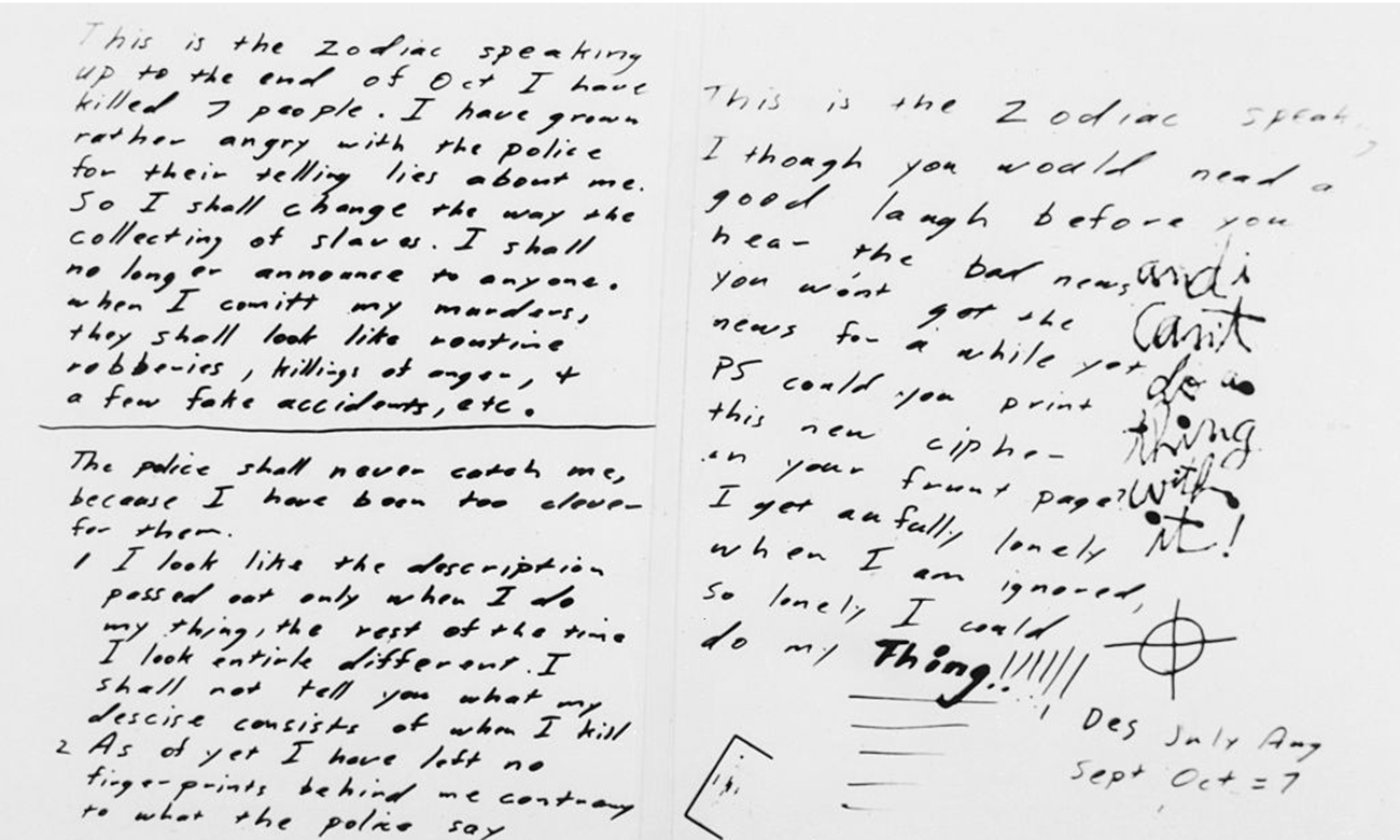 The incredibly tough code was one of a number the killer. Zodiac Killer: Code-Breakers Solve Cipher After 5 Decades