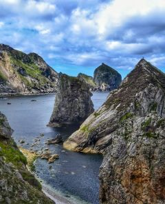 Sea Stack climbing Iain Miller Irish Bucket List
