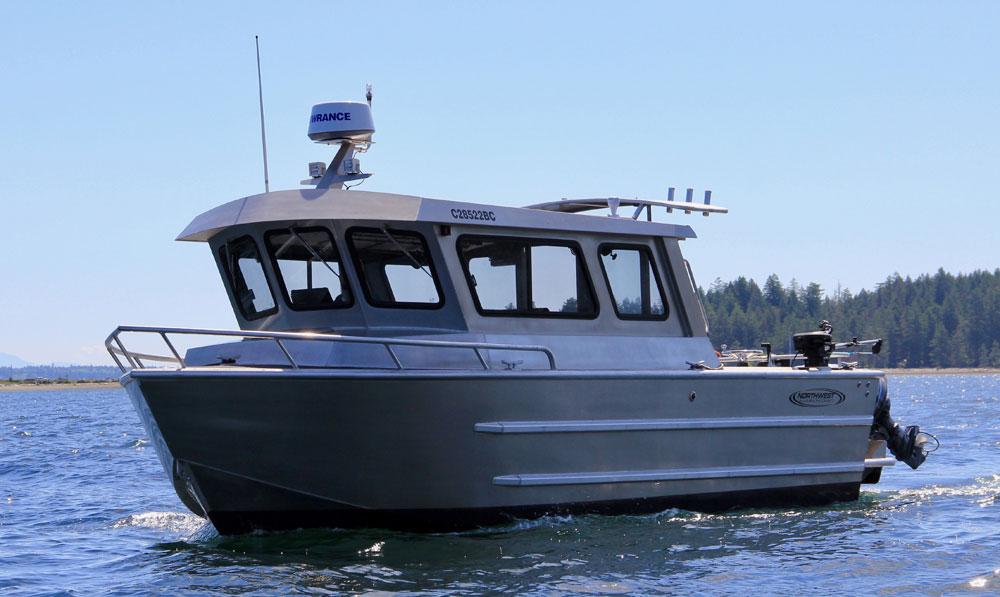 Northwest Aluminum Craft boat on the water