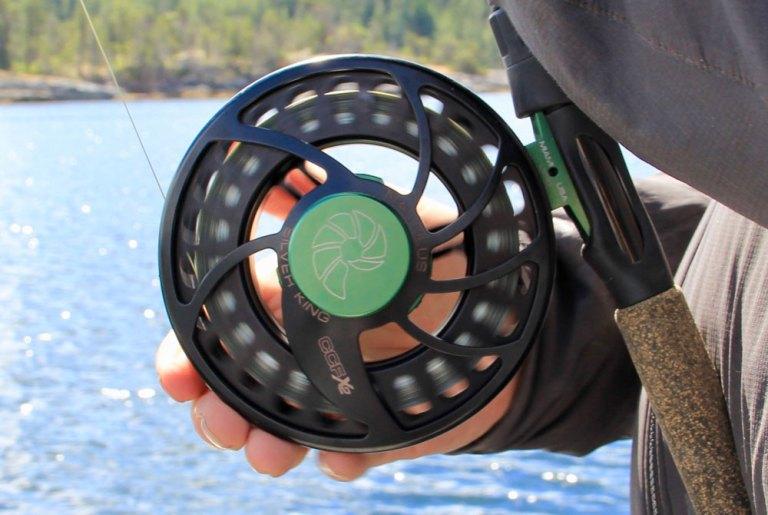 nautilus reel silver king spinning salmon fishing