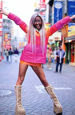 Outsider Japan   Fashion Trends in Japan Ganguro Gals