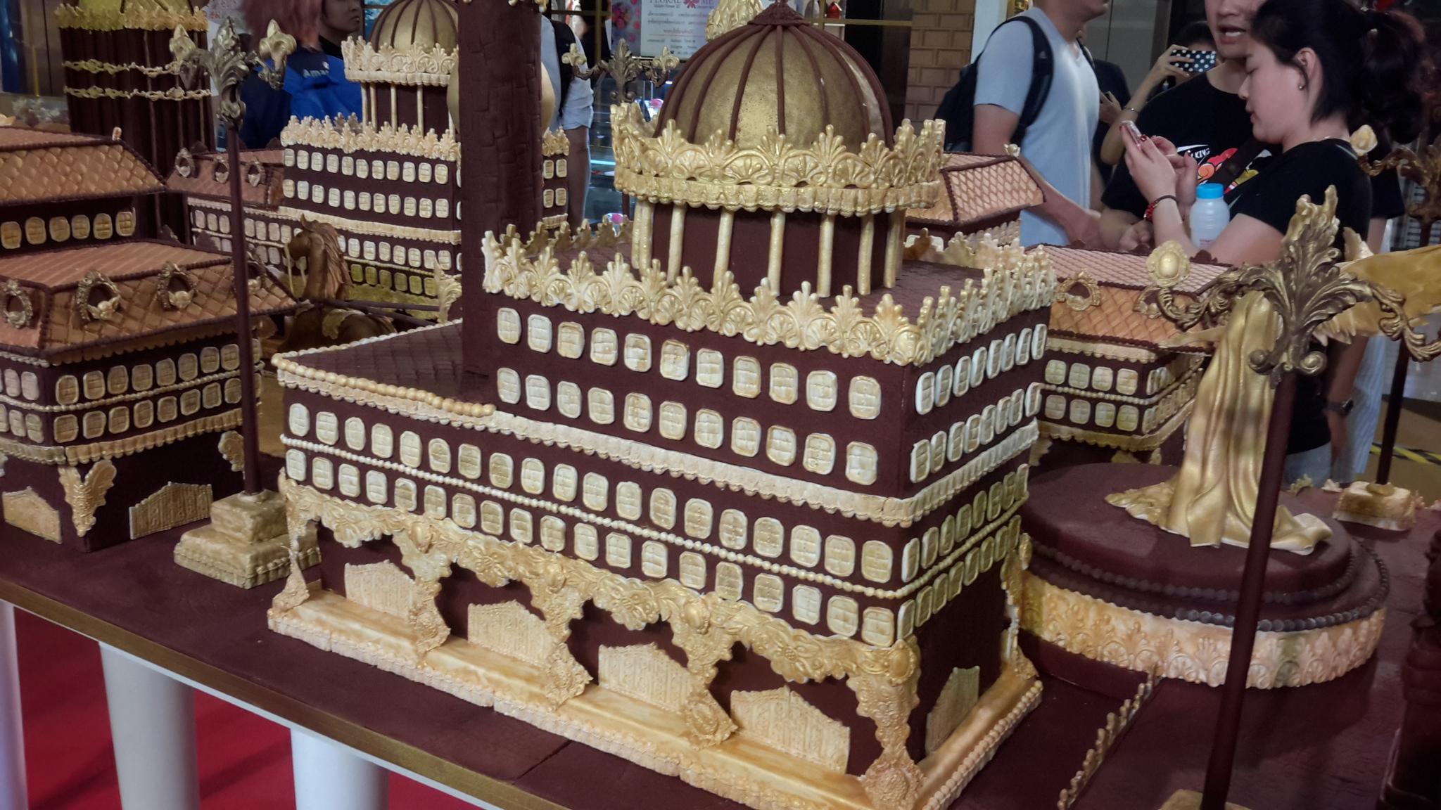 Chocolate biscuit kingdom in Wonderland of Food Art