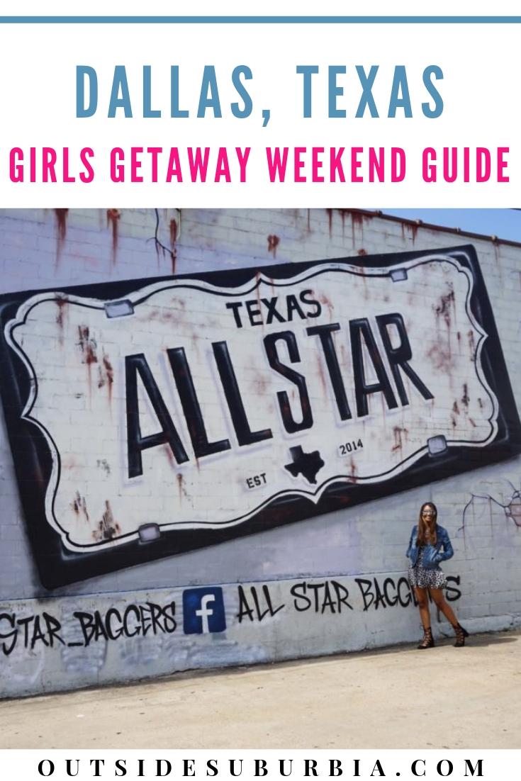 Dallas Girls Getaway Weekend Ideas #GirlsWeekendIdeas