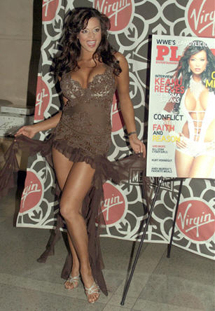 Candice Michelle Playboy launch