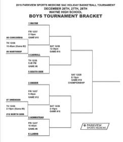 2019 Boys SAC Tournament