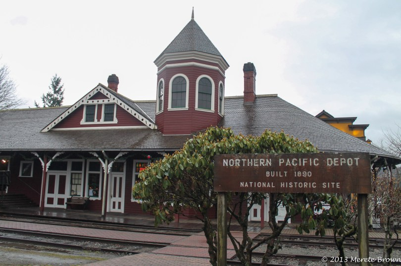 Northern Pacific Depot