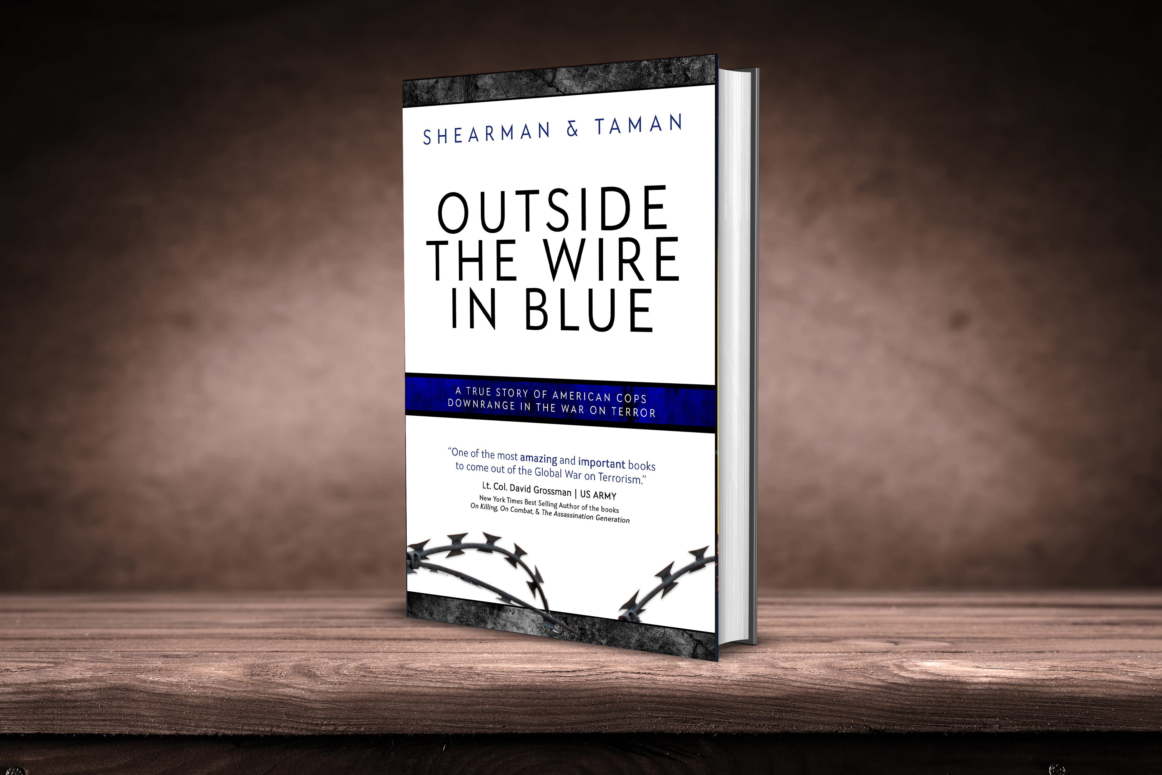 The Wire Book | Outside The Wire In Blue The Untold True Story Of American Cops
