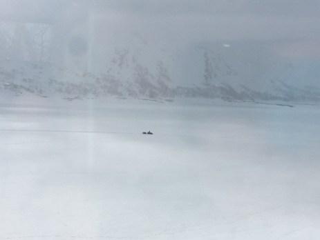 norway snowmobile winter