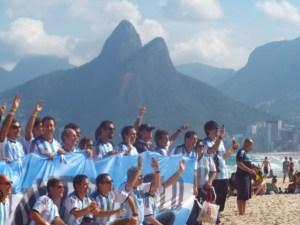 Argentina fans Brazil 2014